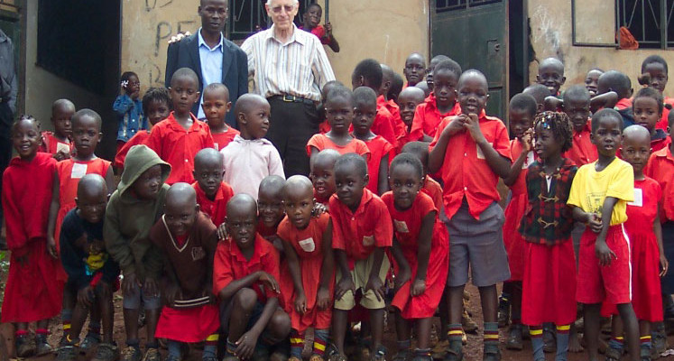 Brother Francis Blouin Makes Final Trip to Uganda